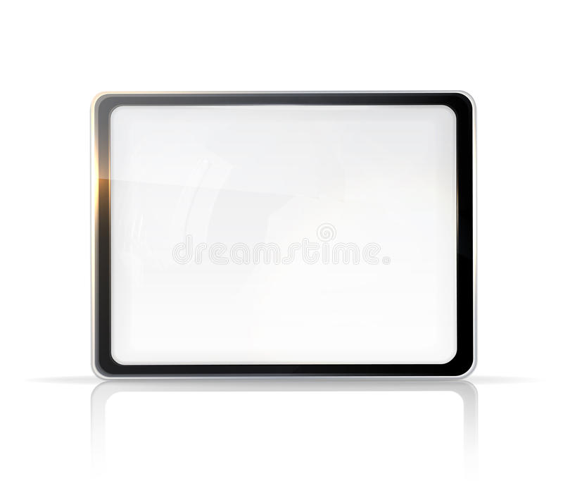Download Touch screen stock vector. Image of notebook, computer - 24511053