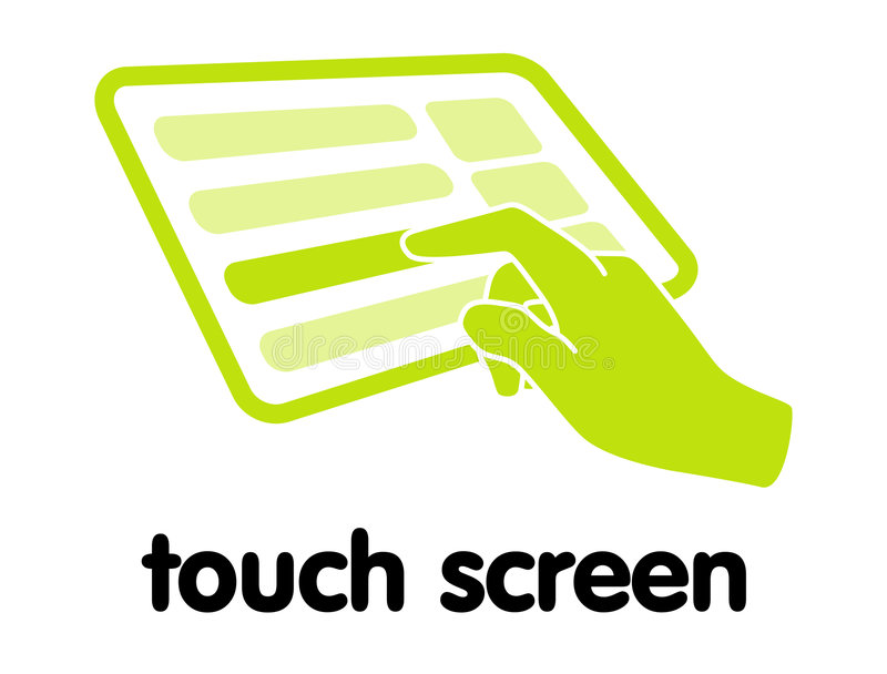 Touch Screen Stock Image