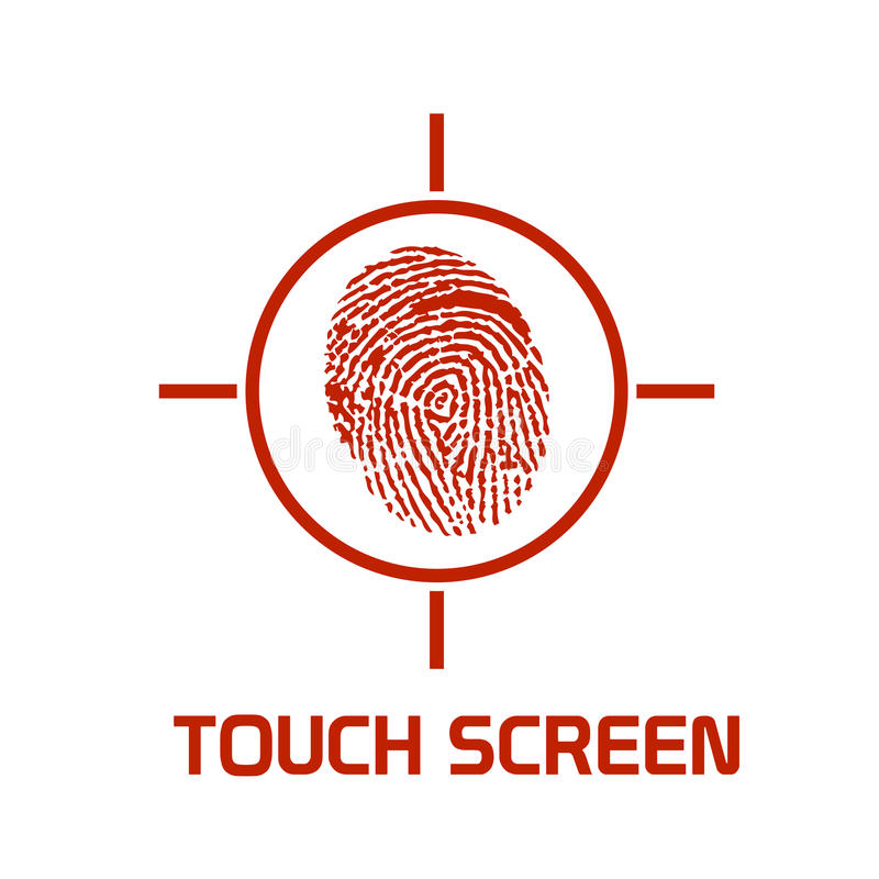 Download Touch Screen Enhanced Symbol Stock Vector - Image: 9836676