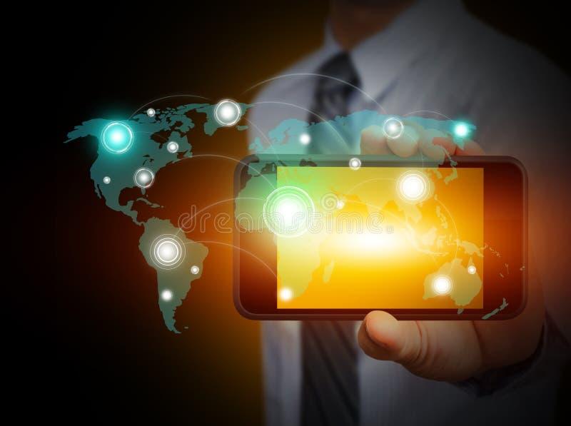 Touch Screen Handy stockfotografie