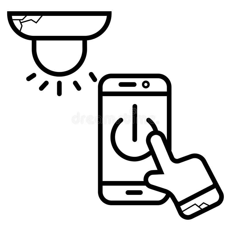 Touch screen icon. Vector illustration stock illustration