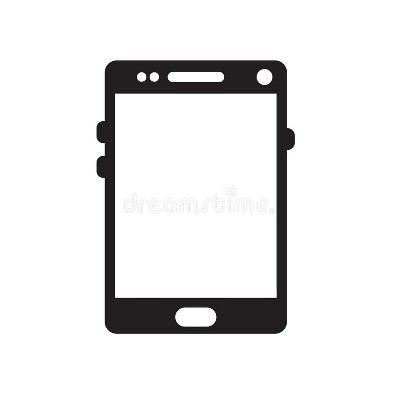Touch screen icon isolated on white background. For your web and mobile app design vector illustration
