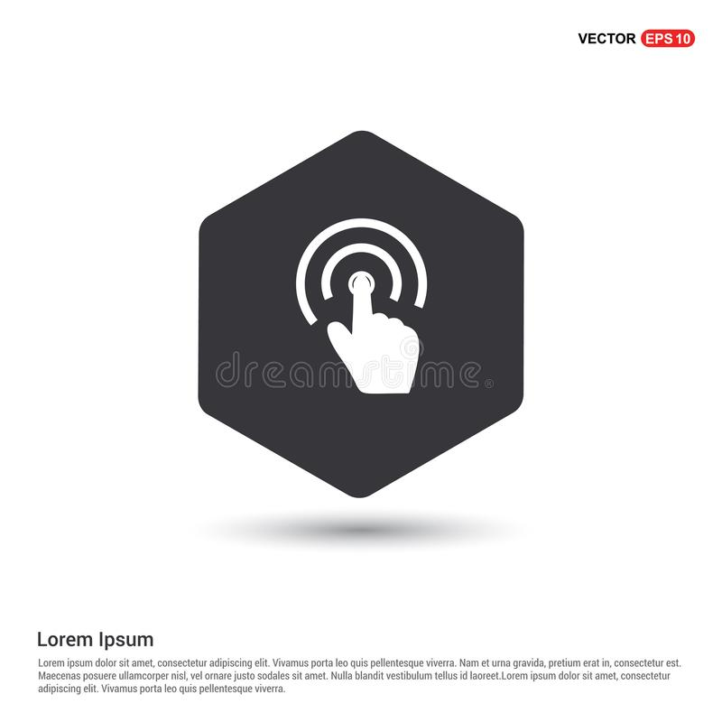 Touch Screen Icon. This Vector EPS 10 illustration is best for print media, web design, application design user interface and infographics with well composed royalty free illustration