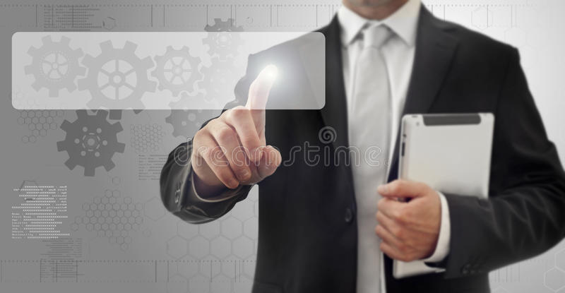 Download Touch screen interface stock image. Image of press, camera - 28636577