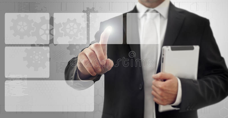 Download Touch screen interface stock photo. Image of display - 28636598