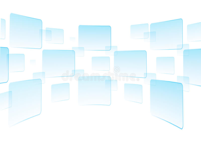 Touch screen interface white stock photography