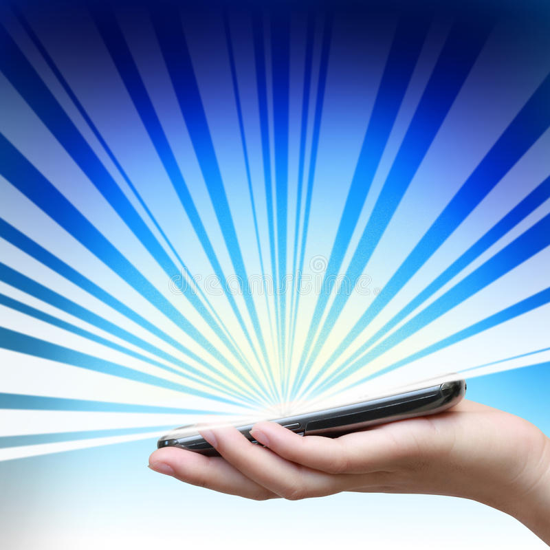 Download Touch Screen Of Mobile Phone. Royalty Free Stock Images - Image: 26514469