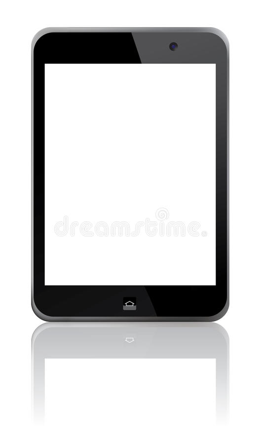 Touch Screen Tablet stock illustration