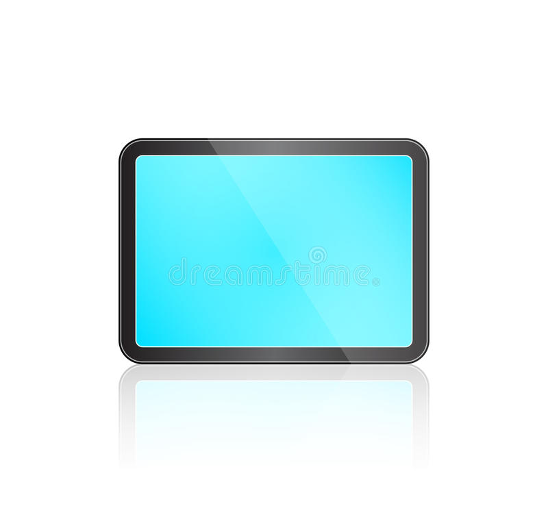 Touch Screen Tablet Stock Image