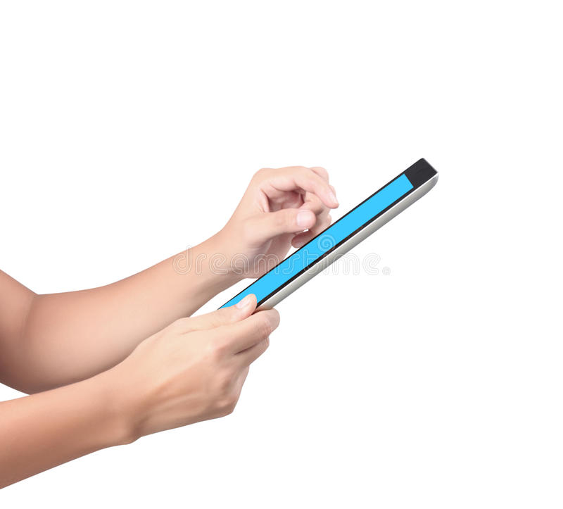 Download Touch screen tablet stock photo. Image of mobile, notebook - 26600800
