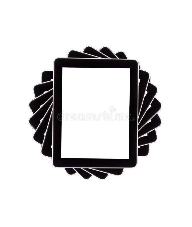 Download Touch Screen Tablet Computer With Blank Screen Stock Image - Image: 26142693