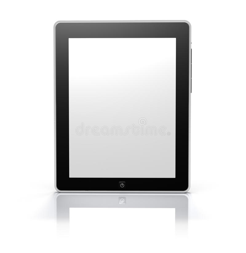 Download Touch Screen Tablet Monitor (Clipping Path) Stock Illustration - Image: 13391297