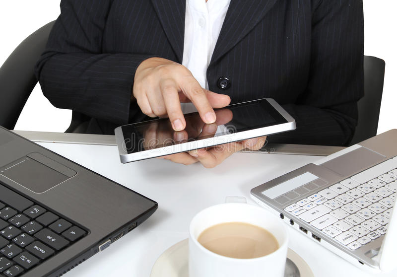 Download Touch tablet stock image. Image of computer, table, technology - 28726235