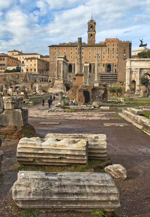 Download Touch To History, The Roman Forum, Rome Stock Image - Image: 29225943