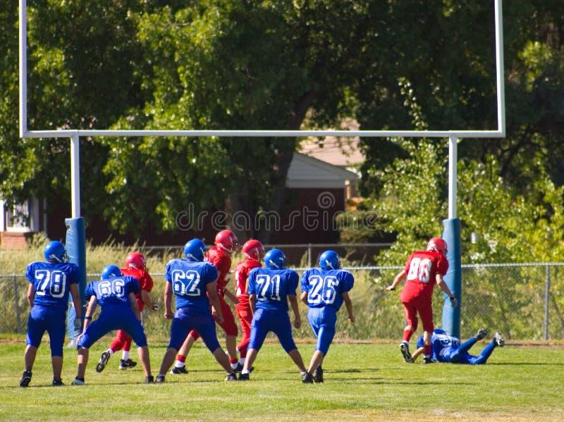 touchdown στοκ φωτογραφία με δικαίωμα ελεύθερης χρήσης