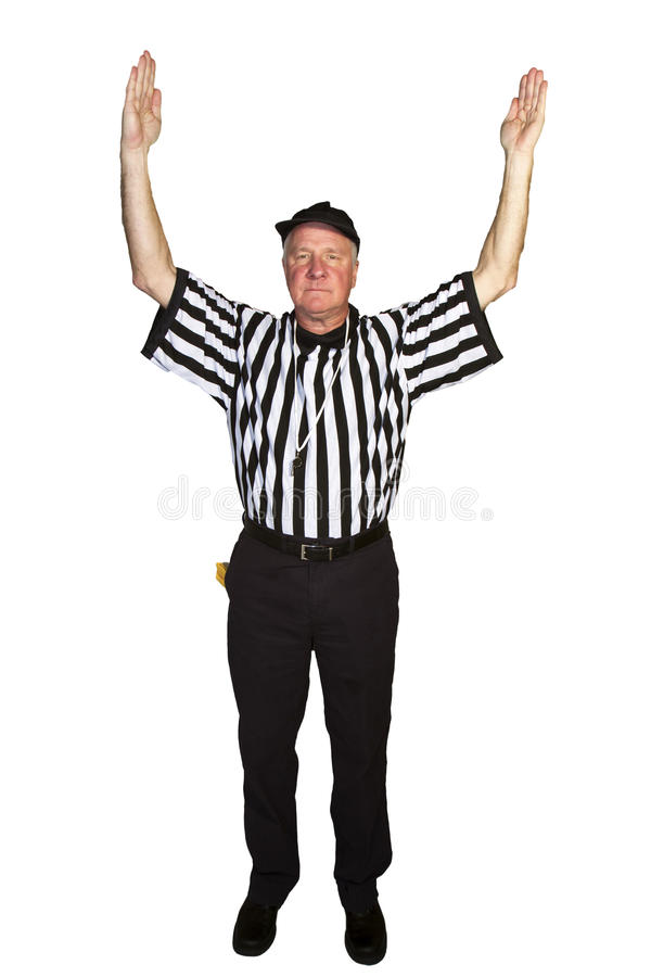 Referee: Referee Signals a Touchdown | Sean Locke