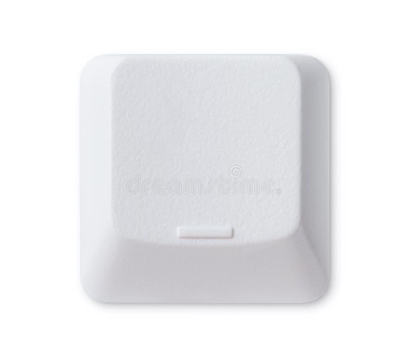 Touche d'ordinateur blanc photo stock