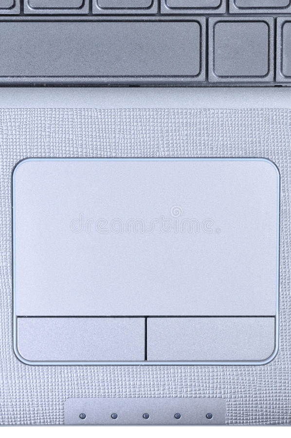 Touchpad do portátil imagens de stock royalty free