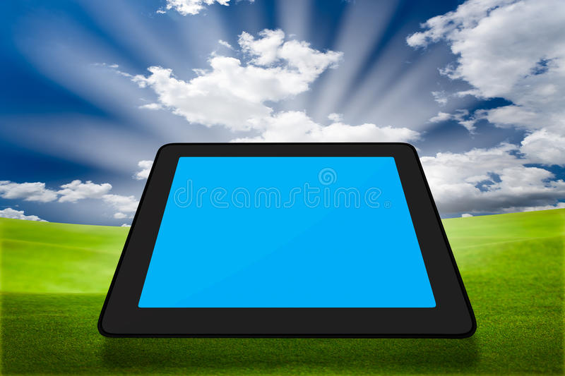 Touchpad PC (Tablet PC) Royalty Free Stock Photos