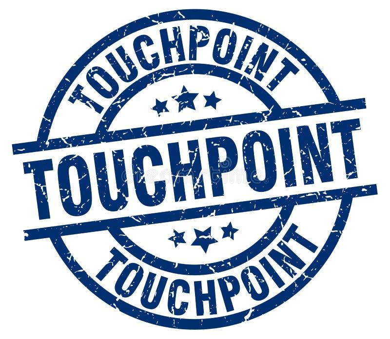touchpoint znaczek ilustracji