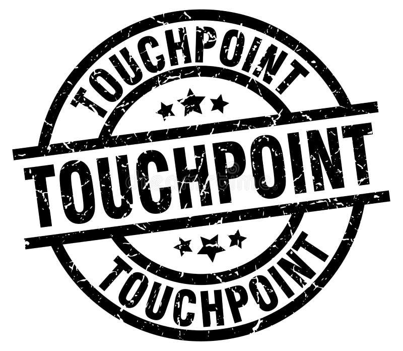 touchpoint znaczek ilustracja wektor