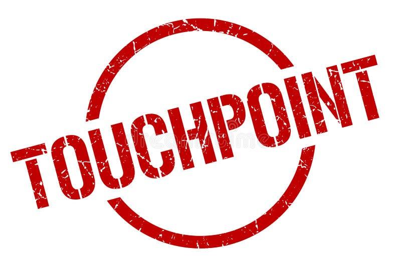 touchpoint znaczek royalty ilustracja