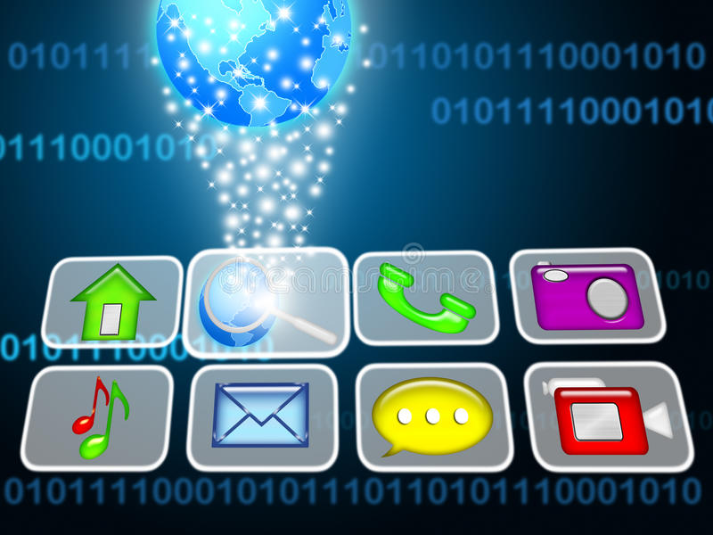 Download Touchscreen Concept Stock Photography - Image: 21786532
