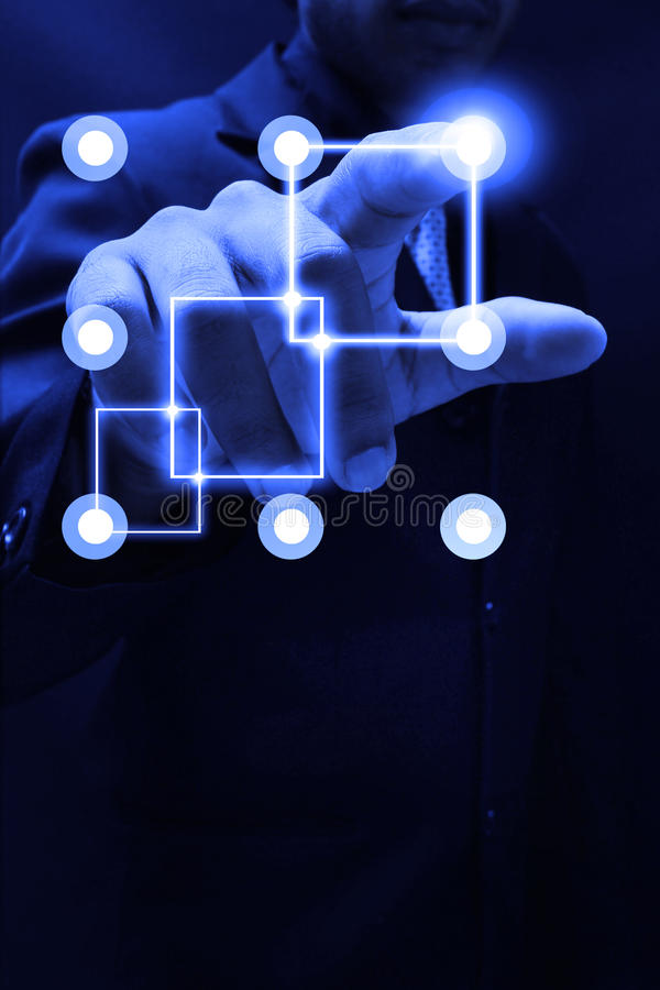 Download Touchscreen interface stock image. Image of gadget, gesture - 36901981