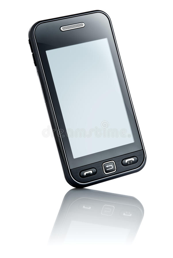 Download Touchscreen phone stock image. Image of design, generation - 10055863