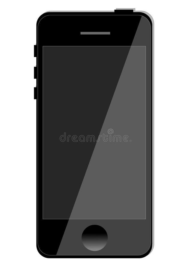 Touchscreen phone stock image