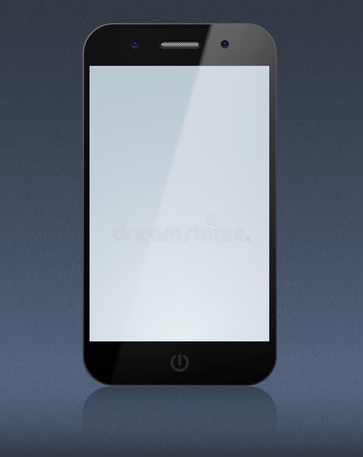 Touchscreen smartphone concept. Vector eps10 Concept communicator. Large touchscreen vector illustration