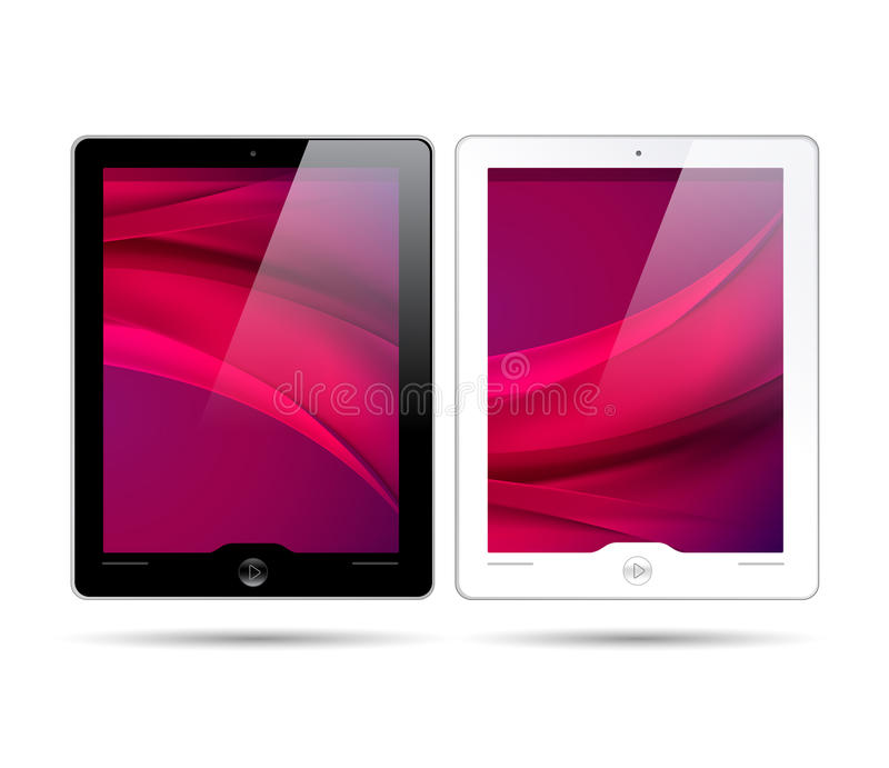 Touchscreen Tablets - Vector Is Available Too! Stock Photo