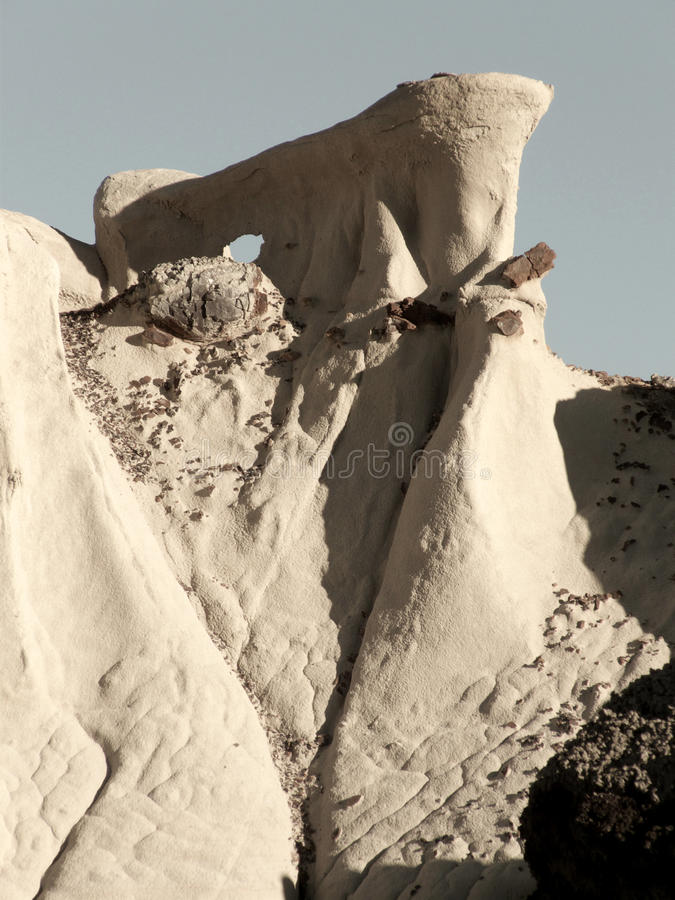 Download Tough Climb stock photo. Image of bisti, mexico, geologic - 15346292