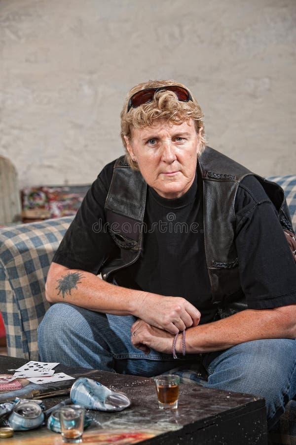 Download Tough Female Gang Member stock photo. Image of female - 27277936