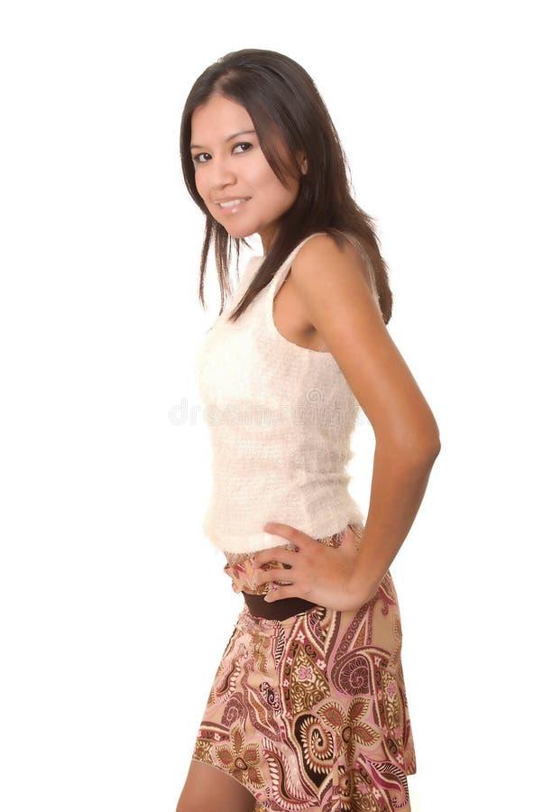 Tough Girl royalty free stock image