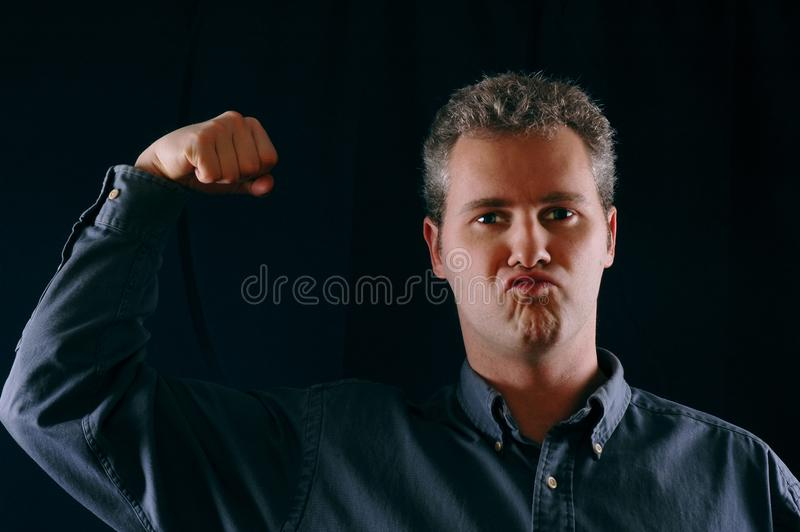 Download Tough guy stock image. Image of head, businessman, boss - 53917