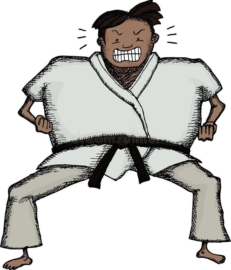 Download Tough Karate Man Royalty Free Stock Photography - Image: 26202247