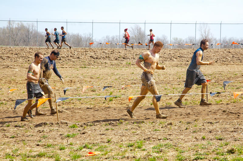 Download Tough Mudder: Muddy Racers editorial photography. Image of competition - 30715762