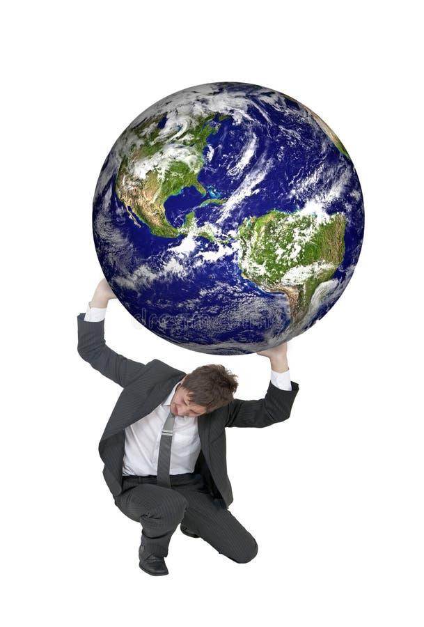 Tough world stock photo