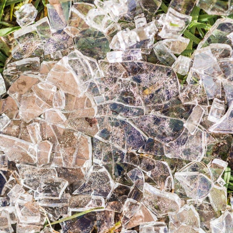 Toughened exponeringsglas arkivbilder