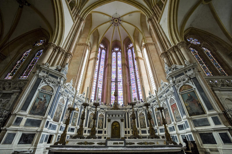 Toul cathedral interior stock image image of religious for Toul lorraine