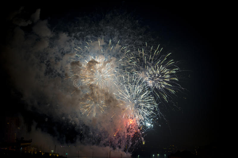 Download Toulon (France): Fireworks Royalty Free Stock Photo - Image: 37517605