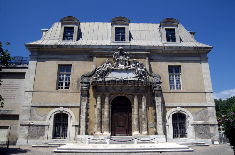 Toulon Frankrike arkivfoto
