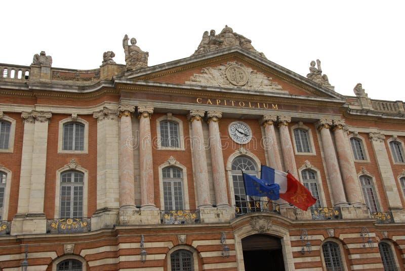 Toulouse Capitole fotografia de stock