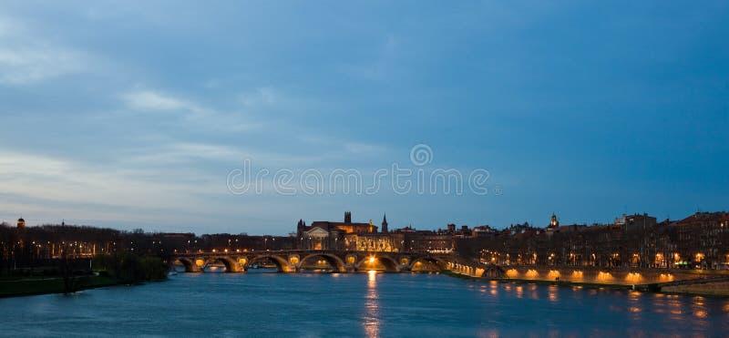 Toulouse em Dawntime foto de stock