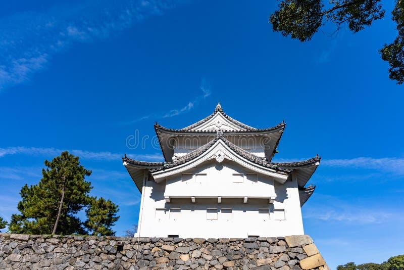 Tounan-sumi Yagura, Southeast Corner Watchtower vid Nagoya Castle arkivbild