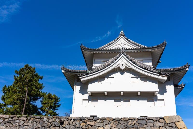 Tounan-sumi Yagura, Southeast Corner Watchtower vid Nagoya Castle royaltyfri bild