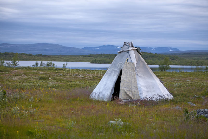 Toundra en Norvège photographie stock
