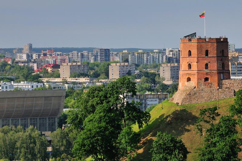 Tour à Vilnius photographie stock