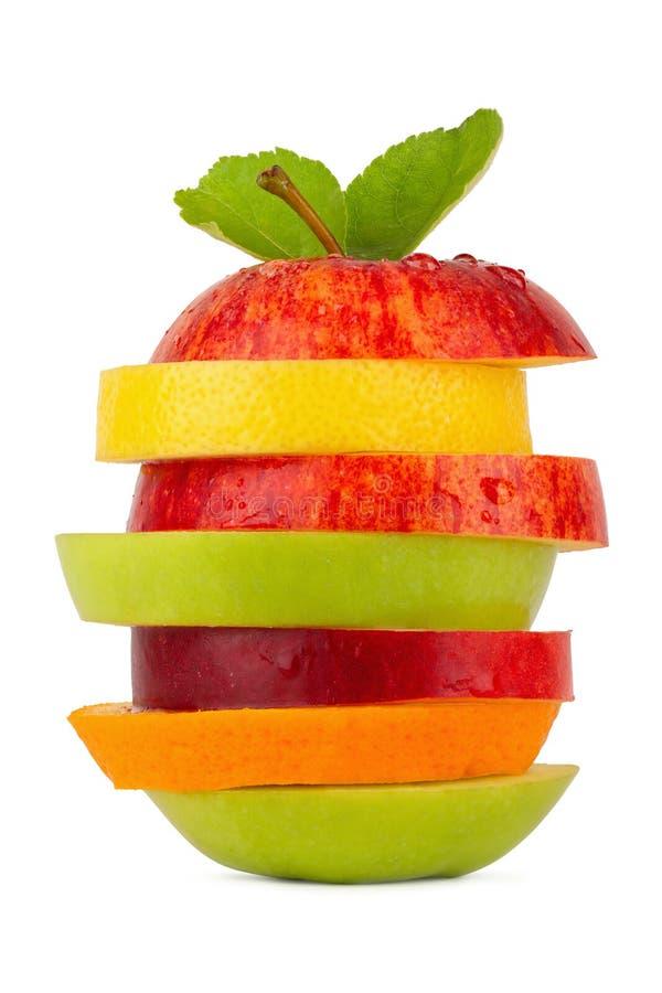 Tour 2 de fruit image libre de droits